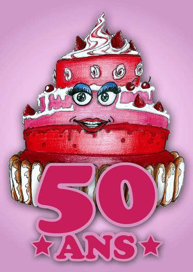 gateau anniversaire 50 ans carte un gros g 226 teau pour les 50 ans envoyer une