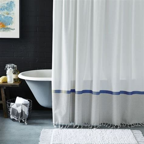 west elm shower curtain easy diy bathroom updates my and