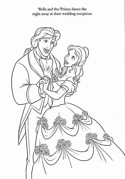 Coloring Disney Coloriage Belle Drawing Kleurplaat Upon