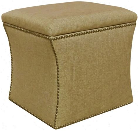 ottoman with nailhead trim nailhead storage ottoman skyline furniture 49 6nb nail
