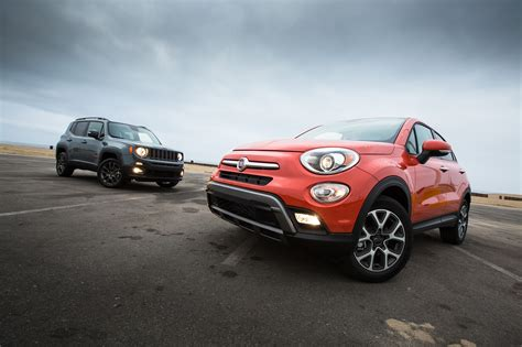 Jeep And Fiat by 2016 Fiat 500x Trekking Awd Better Or Worse Than The