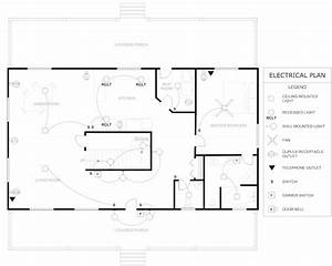 Floor Plan Example Electrical House