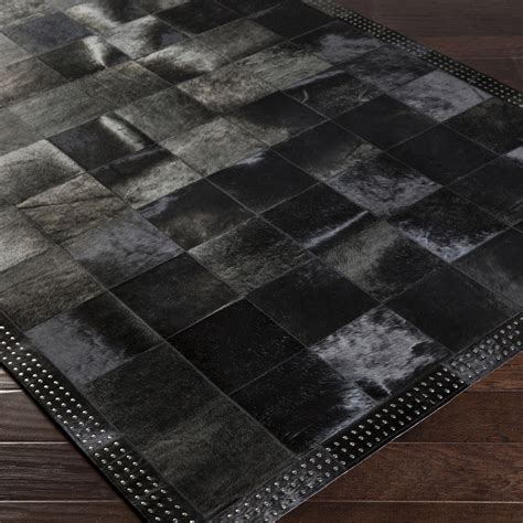Black Area Rugs by Large Black Rug Home Decor