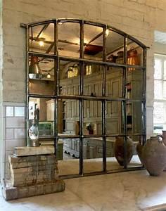 Miroir Mural Design Grande Taille : le miroir fen tre en 53 photos ~ Teatrodelosmanantiales.com Idées de Décoration