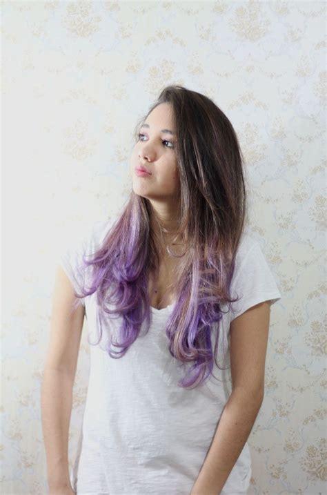 Liveandstuff ¡nuevo Look Purple Ombre Hair Hair Ideas