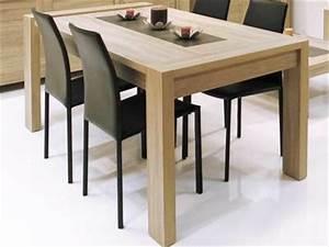 table a manger extensible pratique les rallonges With meuble salle À manger avec table a manger 2 personnes