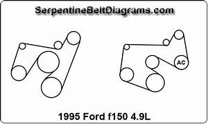 1995 Ford F150 4 9l Belt Diagram
