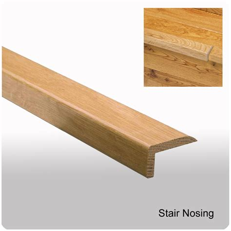 wood stair nosing stair nose moldings this is a 3 piece adjustable stair nosing profile for 79mm thick laminate