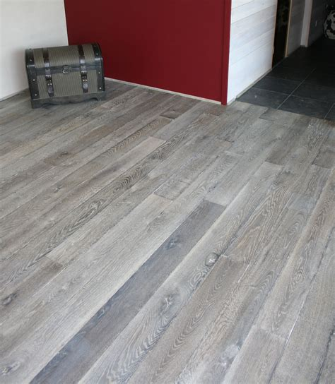 gray wood flooring gray wood floor old grey reclaimed engineered floor hand made wood floors bing search