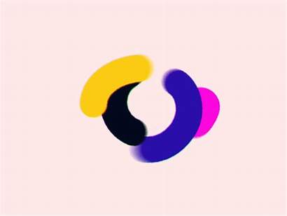 Shapes Morphing Dribbble Motion Shape Circle Vector