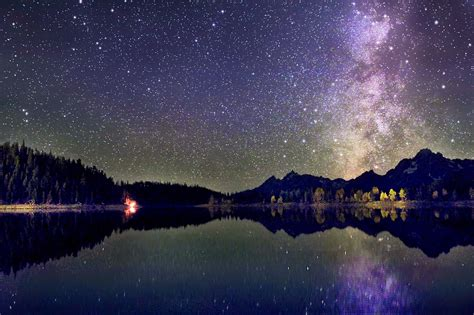 Astrophotography Blog Grand Teton Milky Way