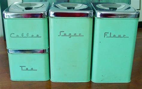 Vintage Kitchen Canisters by 25 Best Ideas About Vintage Canisters On