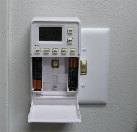 wall switch timer