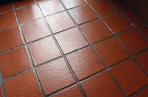 clean quarry tile floors hunker