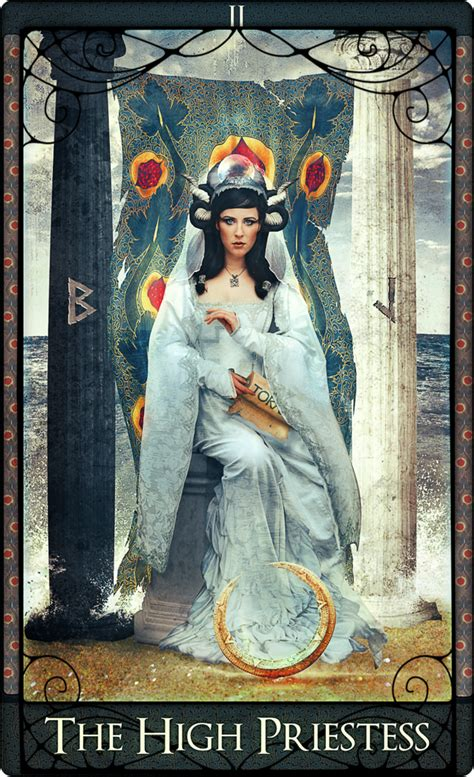 Image result for Tarot cards the high priestess