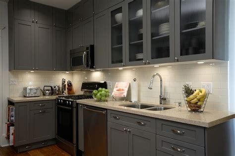 painting kitchen cabinets gray benjamin amherst gray comparable paint 4033