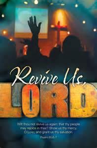 Revival Church Bulletin Covers Free
