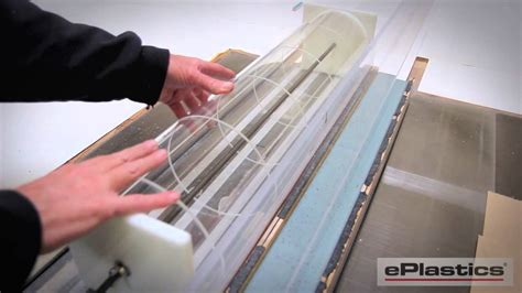 how to cut plexiglass on a table saw notching acrylic tubes on a table saw youtube