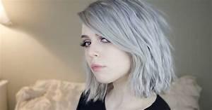 Coloration Cheveux Gris Perle : le granny hair la tendance cheveux qui donne envie de se ~ Nature-et-papiers.com Idées de Décoration