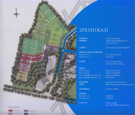 cluster caryota cakra realty