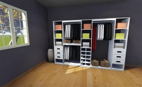 dressing de chambre plan de dressing chambre concevoir dressing outils et