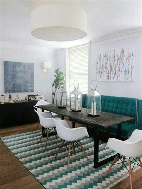 pin  steph siewert  kitch  dine banquette seating