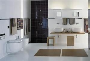 modele de salle de bain design lumiere les decoration de With des modeles de salle de bain