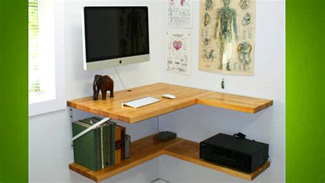 Corner Desk Ideas Diy by Back To 18 Diy Desks To Enhance Your Home Office