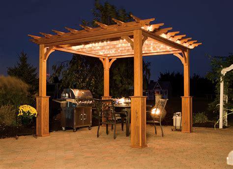 10x14 Barn Shed Plans by Traditional Wood Amp Vinyl Pergolas Backyard Amp Beyond