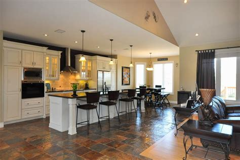 open floor plan kitchen living room floor plans open kitchen living room 8994
