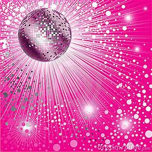Background - CD Cover Design With Disco-ball Royalty Free ...