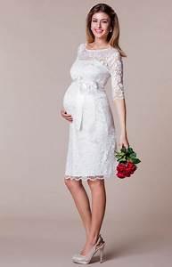 Hochzeitskleid Standesamt Schwanger : brautkleider standesamt f r schwangere ~ Frokenaadalensverden.com Haus und Dekorationen