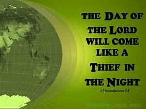1 Thessalonians 5 2