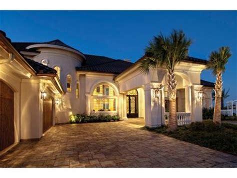 House Plans Mediterranean Style Homes Luxury Mediterranean