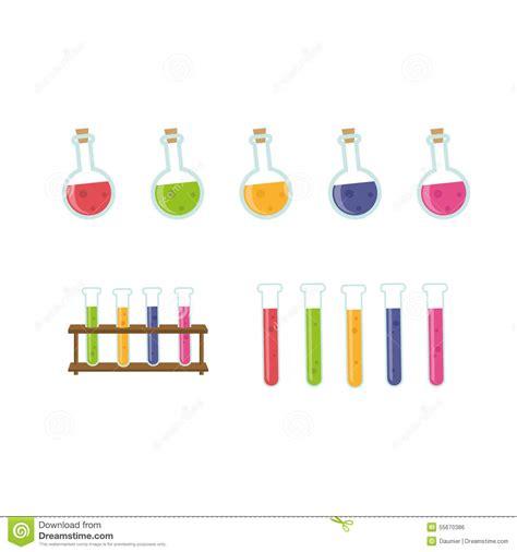 chemistry equipment stock vector illustration  design