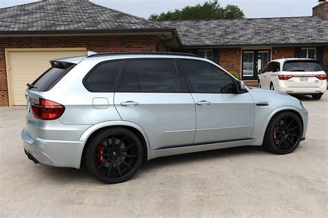 bmw  slammed black wheels  modern suv