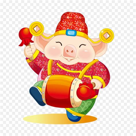 chinese zodiac chinese  year domestic pig lucky pig