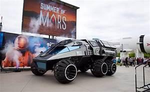 NASA Unveils Futuristic Mars Rover Concept Vehicle - NDTV ...