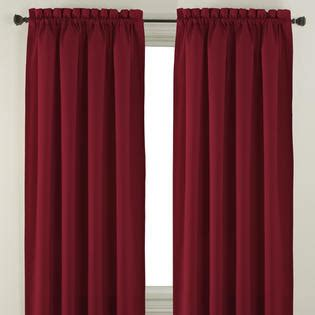 essential home solid curtain panel home home decor