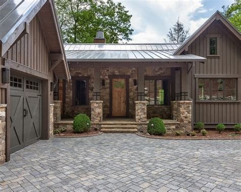 Rustic Home Exterior Design by Rustic Home Exteriors On Cottage Home