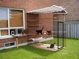 Maison Pour Chat Extérieur : 27 supers id es bricolage pour chats et chiens id e ~ Premium-room.com Idées de Décoration