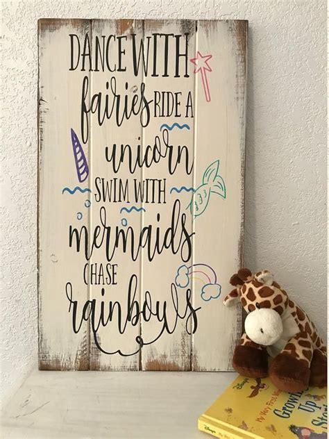 dance  fairies ride  unicorn mermaid sign girls