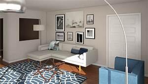 Before, U0026, After, Mid, Century, Modern, Living, Room, Design, Online