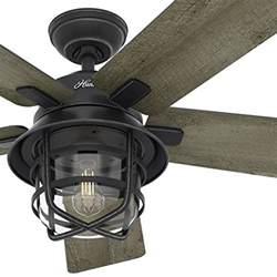 hunter fan 54 weathered zinc outdoor ceiling fan best price