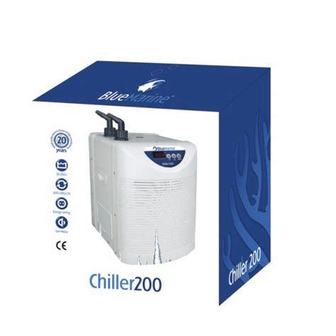 refroidisseur blue marine chiller 200 pour aquarium de 100 224 200 litres refroidisseurs