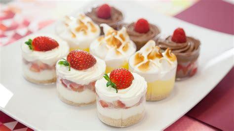 Recipe for Mini Dessert Cup Strawberry