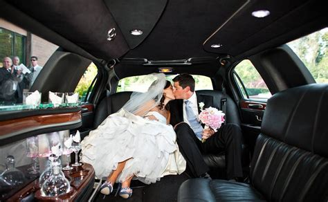 Wedding Limousine Services by Sterling Heights Limousine Warren Limo Rental Service