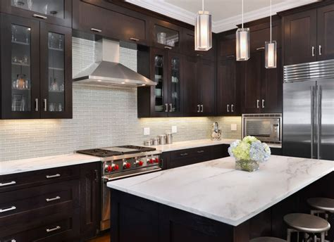 30 Classy Projects With Dark Kitchen Cabinets Home