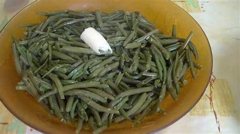 cuisiner les haricots verts comment cuire haricots verts en boite