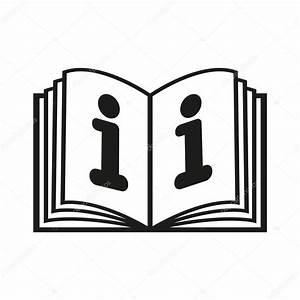 El Icono Del Libro Abierto  Manual Y Tutorial  Instrucci U00f3n